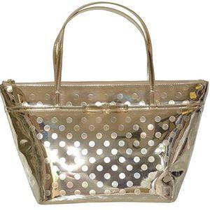 Kate Spade Sophie Camellia Street Gold Tote Bag